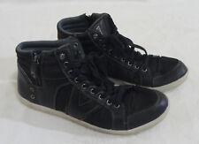 Guess GM Jarlen Men's Lace/Zip Black Fashion Walking Sneaker Shoes Size 12M