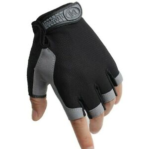 Outdoor Sporting Cycling Soft Gloves Half Finger Wear Resistant Fitness Driving