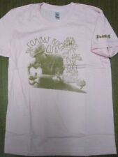 50b5a6d2 FUCT vintage 2005 Combat Rock LG Womens Pink T-Shirt New Old Stock In Baggy