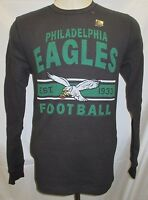 Philadelphia Eagles Men S L XL Tail Gate Long Sleeve Thermal Shirt NFL Black A14