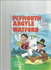 PLYMOUTH ARGYLE V WATFORD   FA CUP SEMI FINAL  14/04/1984