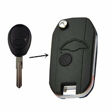 Flip Smart 2 Buttons Key Fob Shell Case For 1999 - 2004 Land Rover Discovery Fob