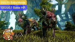 ark pc pve Top Stats 555.1% Base Melee Shadowmane Male/Female