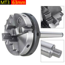 4 Jaw Lathe Chuck Self Centering High Strength Wood Turning Chuck Clamping New