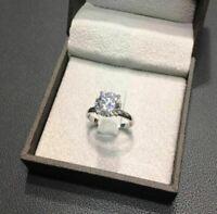 2.00Kt Brillant Rund Diamant Solitär Verlobungsring Weißgold Finish Damen Ring