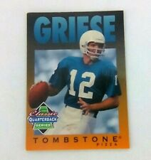 Football cards Bob Griese Tombstone Classic Quaterback series No 5 of 12    1995