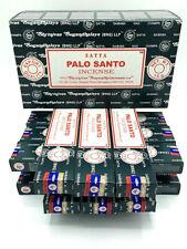 INCENSO PALO SANTO SATYA 12 confezioni da 15 grammi incensi indiani + OMAGGIO