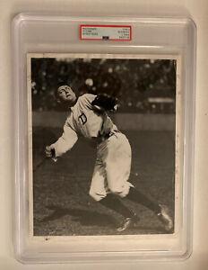 Vintage Ty Cobb 1940's PSA Type ll Photo Detroit Tigers