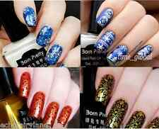 4pcs/set 15ml Born Pretty Nail Art Stamping Polish Plate Printing Varnish Kit