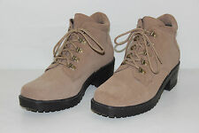 FREE SHIPPING Totes Womens 9 M Brown Leather Fashion Lace Up Casual Hiking Boots