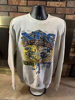 Vintage Green Bay Packers Dallas Cowboy NFL Football Sweatshirt Mens XL 1995 NFC