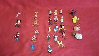 23+3 Rare Vintage Disney Marx Toys Disneykin, fairy, sport Hand Painted Figures
