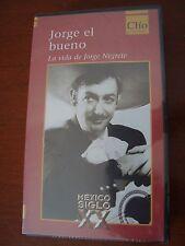 Jorge Negrete biografia biography VHS Tape cinta year 2000 Los 3 gallos MEXICO