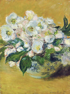 Full Drill Diamond Painting Kit Claude Monet Christmas Roses 1883 Painting