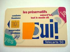 PHONECARD TELECARTE SANTE SIDA INFO AIDS