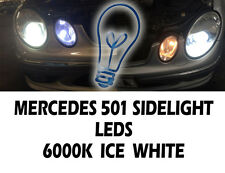 *2 X T10 8 SMD Bright Canbus LED 501 W5W White Bulbs SIDELIGHT ERROR FREE 6000k