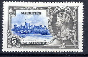 Mauritius Silver Jublee item 1935 MH  KGV [M310821-4]