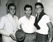 Cliff Richard, Billy Fury & Jess Conrad UNSIGNED photograph - M8491 - NEW IMAGE