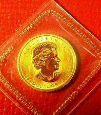 2005 Canada 1/10th oz $5 Gold Maple Leaf Coin, .9999 Fine Gold, Mint Sealed