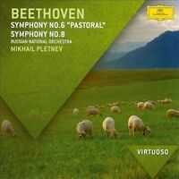 NEW VIRTUOSO: Beethoven: Symphony No. 6 'Pastoral'; Symphony No. 8 (Audio CD)