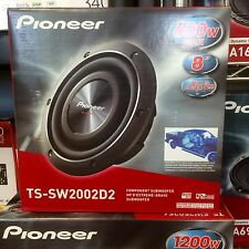 """Pioneer TSSW2002D2 600W 8"""" TS Series Shallow Mount Dual 2 ohm Subwoofer NEW Low$"""