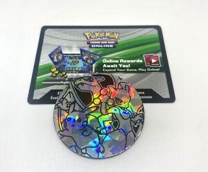 Pokemon Charizard, Mewtwo, Pikachu GX Jumbo Coin + Code Card Battle Academy