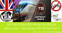 Train Simulator: Amtrak HHP-8 Loco Add-On DLC Steam key Region Free