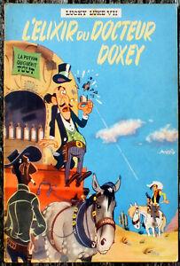 LUCKY LUKE T 7 l'ELIXIR DU DOCTEUR DOXEY EO 1955 TRES BEL ETAT MORRIS PILOTE