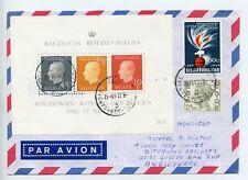 Belgium 1988 cover miniture sheet (R047)