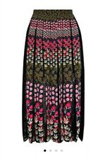 Saloni Petra Pleated Skirt As New Size 8