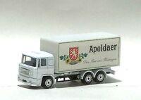 Apoldaer Biertruck-Nr. 1 - MAN F90 LKW - KW 100 €  (OVP) MEGA-RAR!