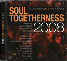 "SOUL TOGETHERNESS 2008  ""15 MODERN SOUL ROOM GEMS""  CD"