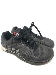 Reebok Crossfit Nano 4.0 CF74 Gym Lifting Shoes White Black Men's Size 11.5
