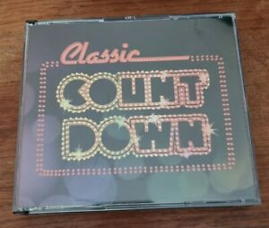 Classic Countdown Various 4 CD (Cockroaches John Paul Young Ted Mulry) - EX