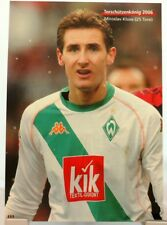 Miroslav Klose + Torschützenkönig 2006 Werder Bremen + Fan Big Card Edition C57