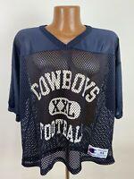 Vintage 90s Dallas Cowboys Football Mesh Jersey 44 Large NFL Football Champion