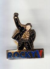 RARE PINS PIN'S .. CINEMA FILM MOVIE STUDIO SYLVESTER STALLONE BOXE ROCKY V ~CR