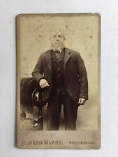 Victorian Carte De Visite CDV Photo - Gentleman - Alfred Clark - Rotherham