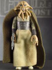 SQUID HEAD 1983 Vtg Star Wars RotJ Action Figure Toy COMPLETE Jabba Alien Tessek