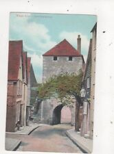 West Gate Southampton Vintage Postcard 718a
