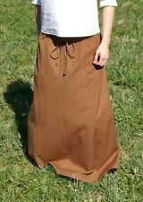 Mittelalter Rock, Cognac, LARP Gewandung Magd Maid Kleidung Frau
