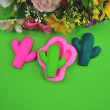 DIY Cactus Silicone Mold Chocolate Candy Pastry Making Baking Tool Cookies Mould