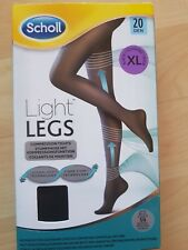 Scholl Light Legs Compression Tights 20 Den black  X Large