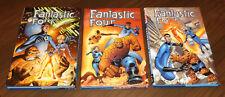 FANTASTIC FOUR BY WAID & WIERINGO HC OMNIBUS complete set 1-2-3 Marvel 2004-2005