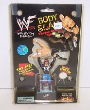 '98 JusToys WWF Micro BendEms Body Slam Throw Action Ring X Pac v Triple H {423}