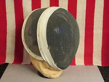 Vintage Santelli Nyc Blade Fencing Helmet Mask Wire Mesh Face Guard Great Shape!