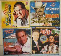 4 DISCOS DE REYES DE LA BALADA ROMANTICA FORMATO MP3.425 canciones con sus lista