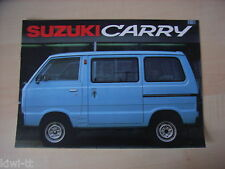 Suzuki Carry, carry pick-up, folleto/brochure/depliant, B (F)