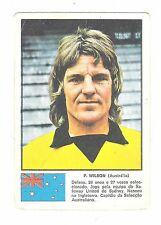 Vintage Portugese 1974 World Cup Stamp Sticker Peter Wilson Australia
