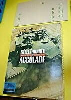 Software, Simulation, Steel Thunder, Tanks, PC, 1989, Accolade, Floppy Disk
